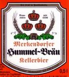 Logo Merkendorfer Hummel-bräu Kellerbier