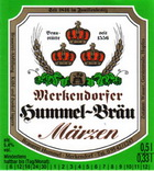 Logo Merkendorfer Hummel-bräu Märzen