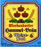 Logo Merkendorfer Hummel-Bräu Weizenbock