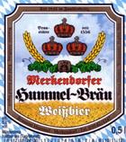 Logo Merkendorfer Hummel-bräu Weißbier