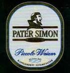 Logo Kapplerbräu Pater Simon Piccolo Weizen