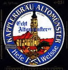 Logo Kapplerbräu Echt Altomünsterer Hefeweisse
