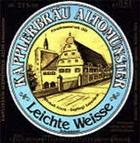 Logo Kapplerbräu Leichte Weisse