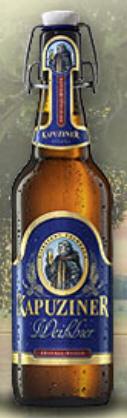 Logo Kapuziner Weißbier Kristall