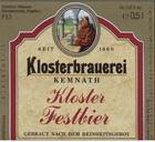 Logo Kemnather Kloster-festbier