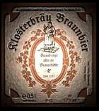 Logo Klosterbräu Bamberg Braunbier