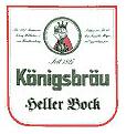 Logo Königsbräu Heller Bock