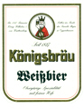 Logo Königsbräu Hefeweizen