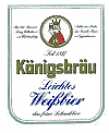 Logo Königsbräu Leichtes Weißbier