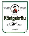 Logo Königsbräu Pilsner