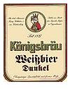 Logo Königsbräu Weißbier Dunkel