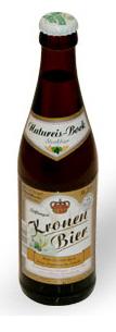 Logo Kronen Bier Natureis Bock