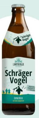 Logo Schräger Vogel