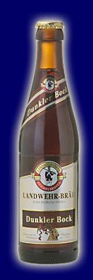 Logo Landwehr-bräu Dunkler Bock