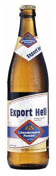 Logo Löwenbrauerei Passau Export Hell
