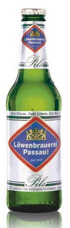 Logo Löwenbrauerei Passau Löwenpils