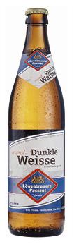 Logo Löwenbrauerei Passau Dunkle Weisse