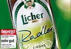 Logo Licher Radler Limone