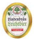 Logo Lindenbräu Leichtbier