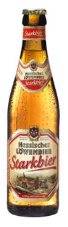 Logo Hessisches Löwenbier - Starkbier