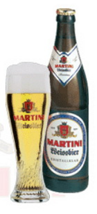 Logo Martini Weissbier kristallklar