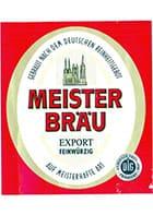 Logo Meisterbräu Export