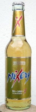Logo Karlsberg Mixery Bier+Lemon+X