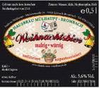 Logo Hausbräu Mülhaupt Weihnachtsbier
