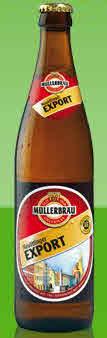 Logo Müllerbräu Neuöttinger Export