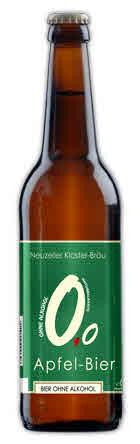 Logo Neuzeller Apfel Bier 0,0