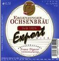 Logo Ergenzinger Ochsenbräu Export