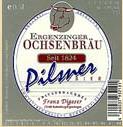Logo Ergenzinger Ochsenbräu Pilsner