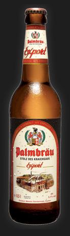 Logo Palmbräu Export