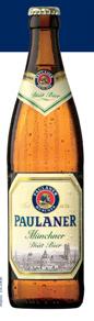 Logo Paulaner Münchner Diät Bier