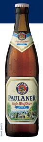 Logo Paulaner Hefe Weißbier Leicht