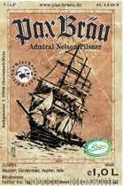 Logo Pax Bräu Admiral Nelson Pilsner