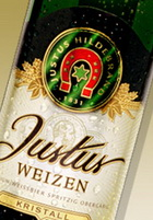 Logo Justus Weizen Kristall