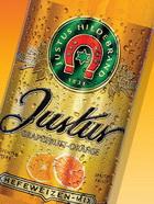 Logo Justus Weizen Grapefruit-Orange