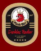 Logo Plank Bier Dunkles Radler