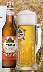 Logo Pyraser Landbier Export Hell
