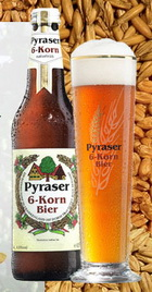 Logo Pyraser 6-korn Bier