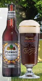 Logo Pyraser Schwarzbier