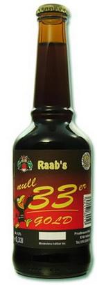 Logo Raab's 033er Gold