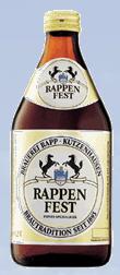 Logo Rappen Festbier