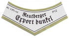 Logo Reutberger Export dunkel