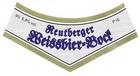 Logo Reutberger Weissbier Bock