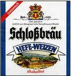 Logo Schlossbräu Hefe-weizen Alkoholfrei