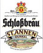 Logo Schlossbräu ST. Annen Dunkel