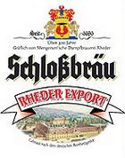 Logo Schlossbräu Rheder Export