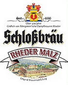 Logo Schlossbräu Rheder Malz